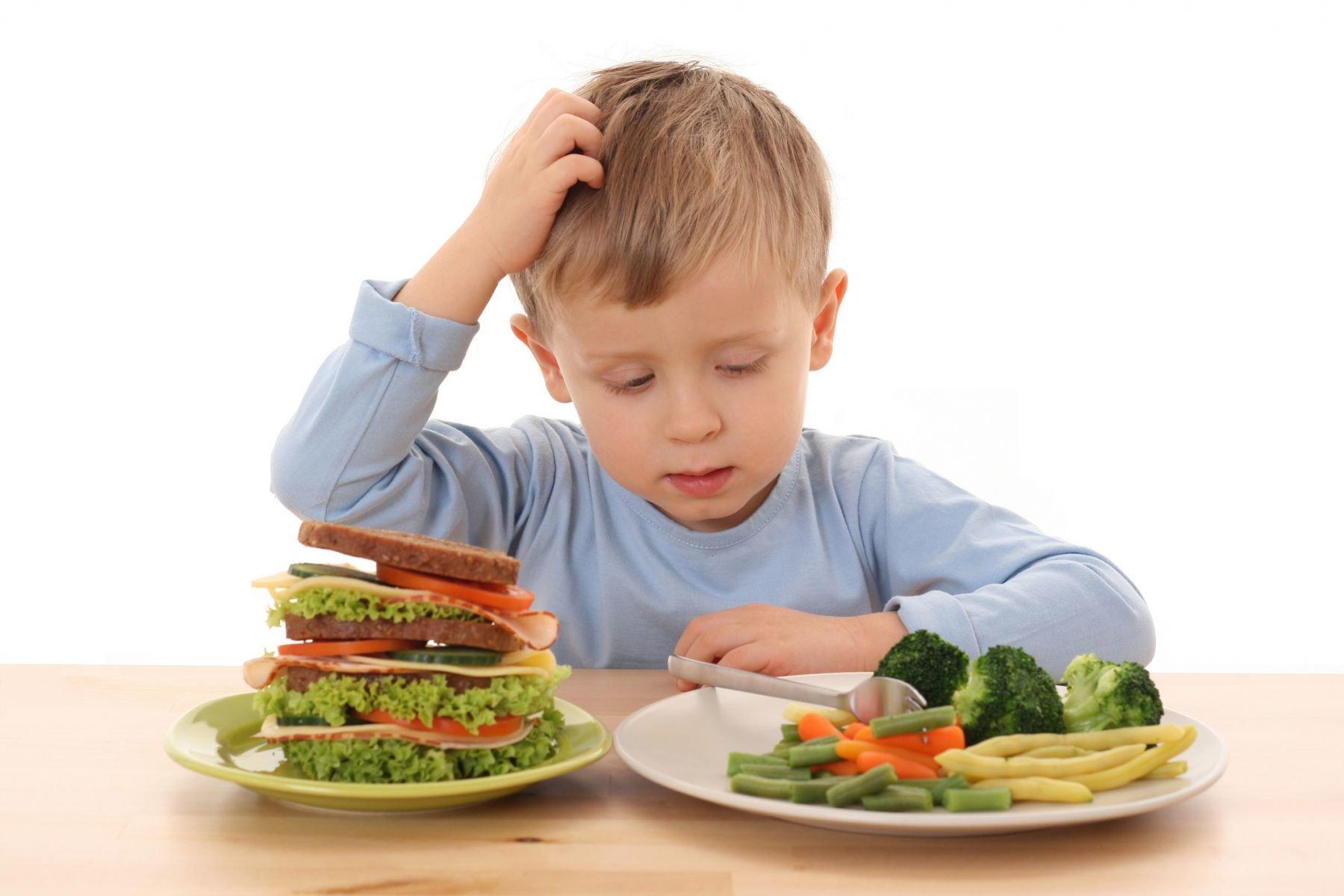 правильное питание при детском гастрите